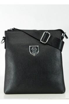 Мъжка чанта с голяма емблема