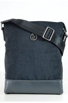 Стилна мъжка чанта в черно