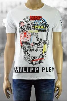 Вталена модерна мъжка тениска в два цвята