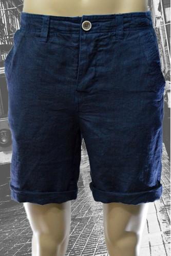 Къси ленени мъжки панталони в два цвята