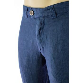 Дълъг ленен мъжки панталон