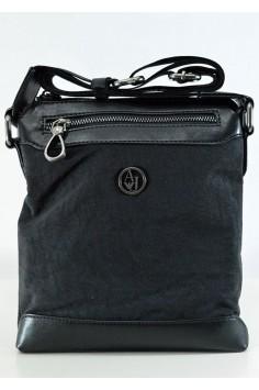 Модерна мъжка чанта с кожени елементи