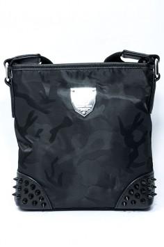 Мъжка чанта с шипове