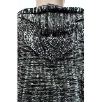 Плетена асиметрична мъжка жилетка