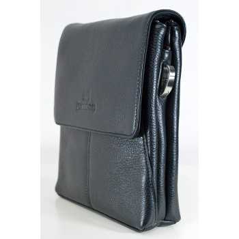 Семпла мъжка чанта от естествена кожа
