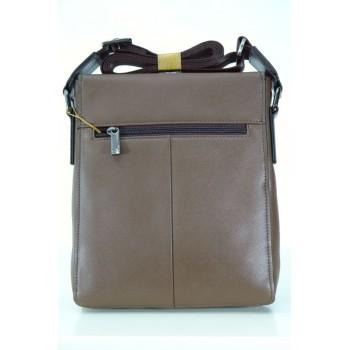 Модерна мъжка чанта от естествена кожа