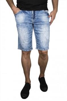 Класически светло сини къси дънки