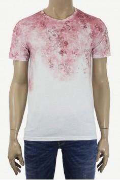Мъжка тениска с флорални мотиви
