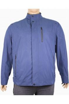 Мъжко пролетно яке в тъмно синьо (Големи размери)