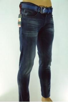 Мъжки дънки с колан