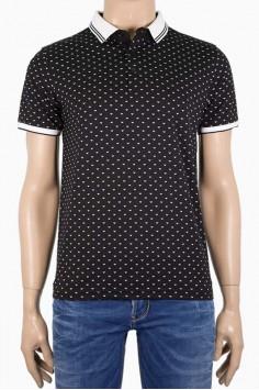 Мъжка стилна тениска с яка