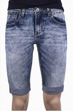 Мъжки светло сини къси дънки